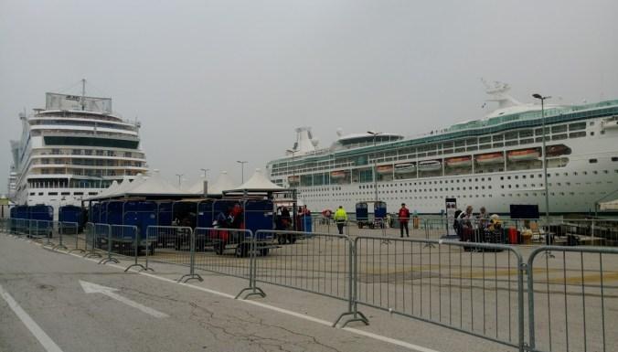 Barcelona departure port