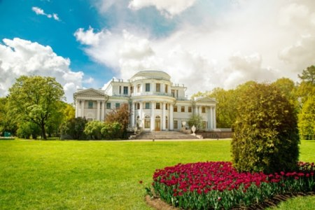 About Saint Petersburg - a green city