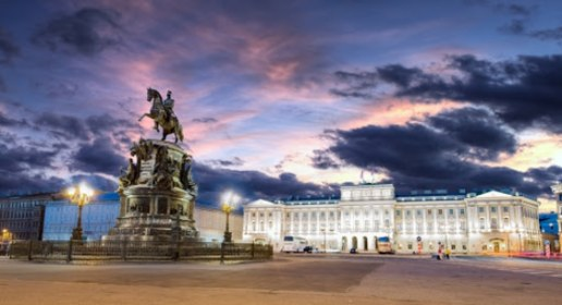 White Nights in Saint Petersburg