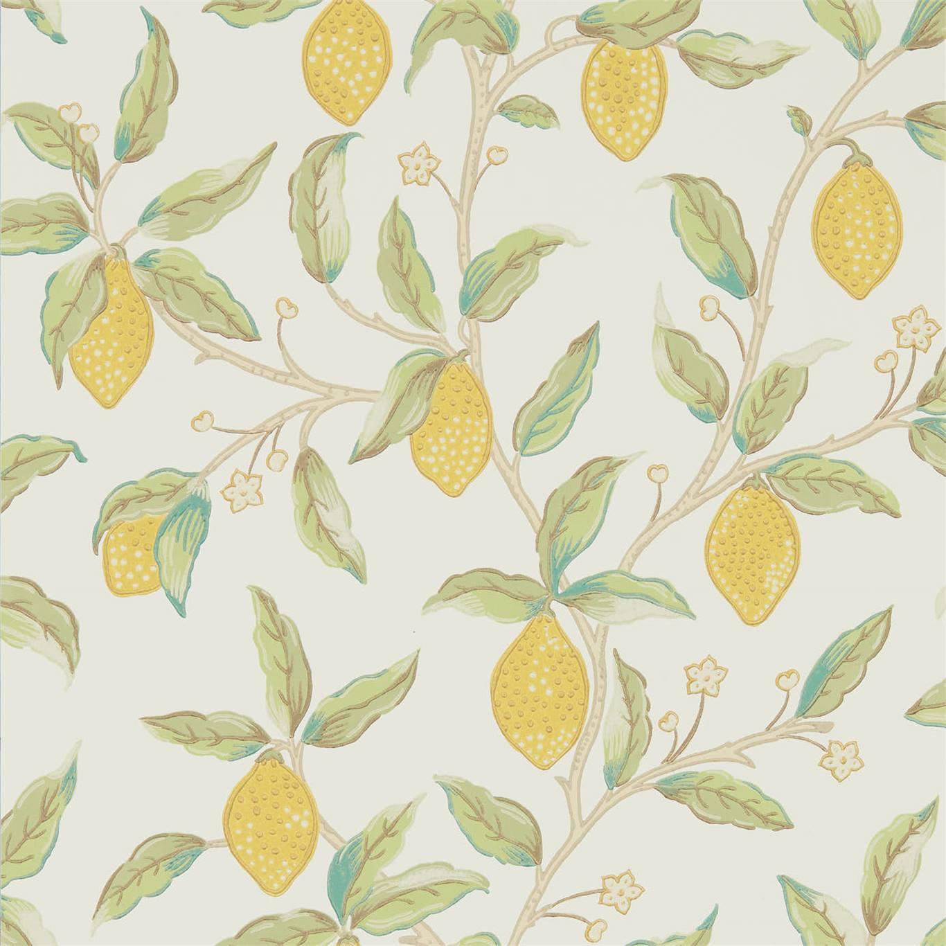 Lemon Tree wallpaper by Morris & Co.