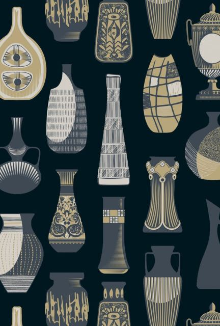 Vessel wallpaper - Midnight close up - at wallpaperdirect