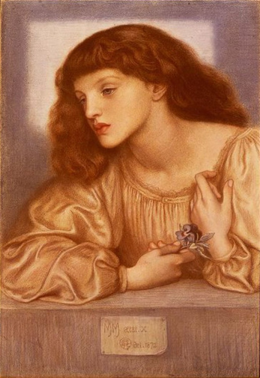 May Morris by Dante Rosetti