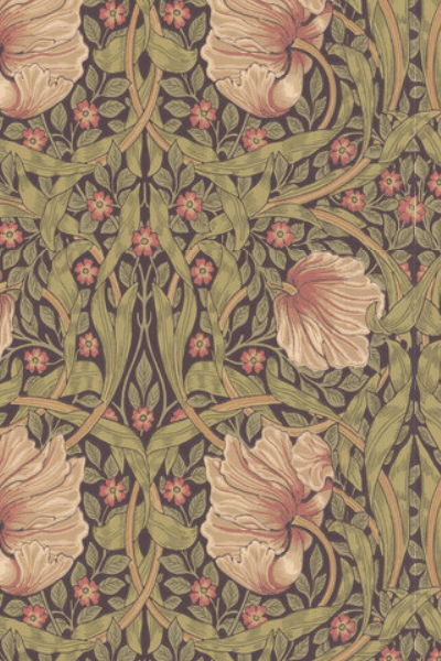 Pimpernel wallpaper by Morris & Co.