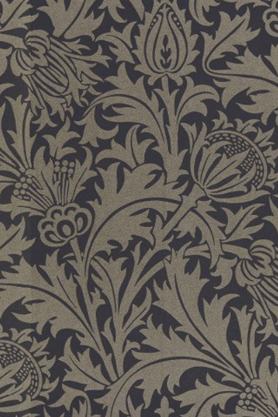 Pure Thistle wallpaper by Morris & Co.