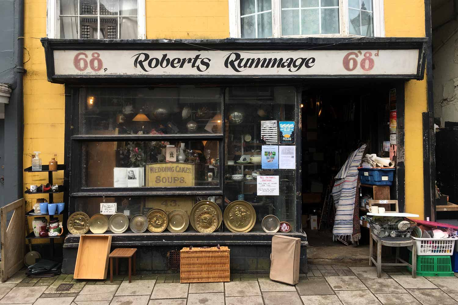 A vintage rummage through Hastings Old Town