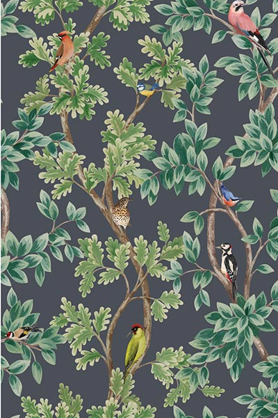 Wallpaper from O&L's Mansfield Park Collection