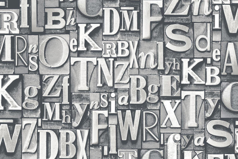Letterpress metal type link to Galerie Nostalgie