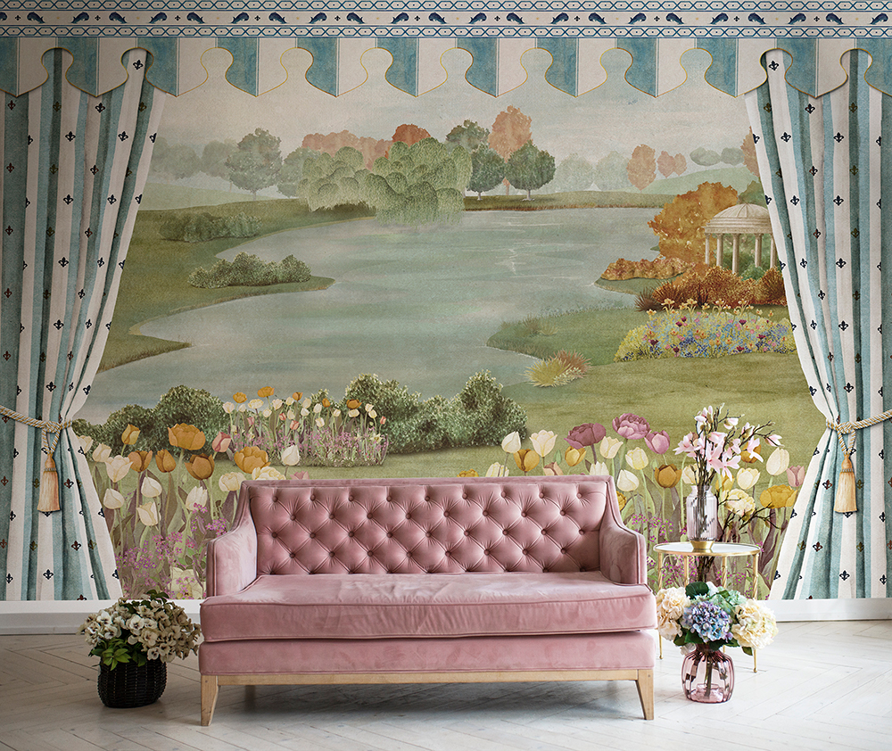 Making a big impression: Mural wallpapers