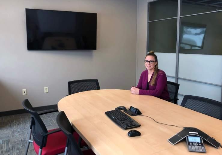 Erin Beard in Warners' Stellian conference room