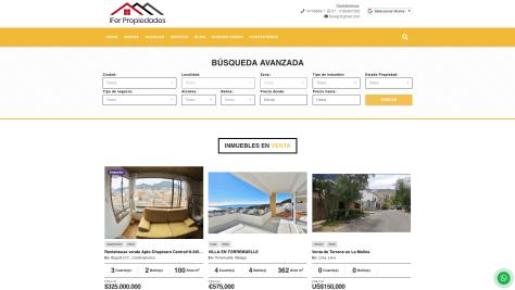 Novedades Wasi del mes de marzo de 2019 plantilla pagina web para inmobiliaria Yucatán