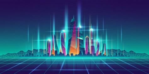 big data inmobiliario representado en ilustración de urbe digital