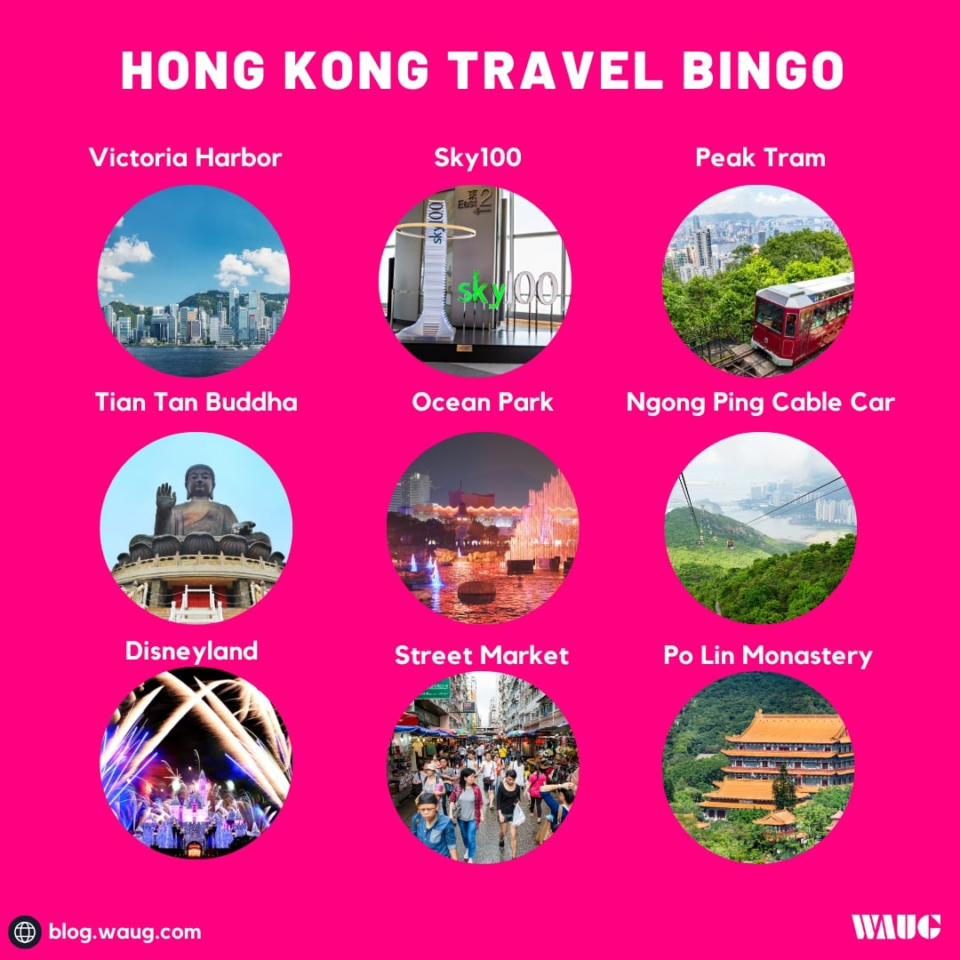 hong-kong-travel-bingo