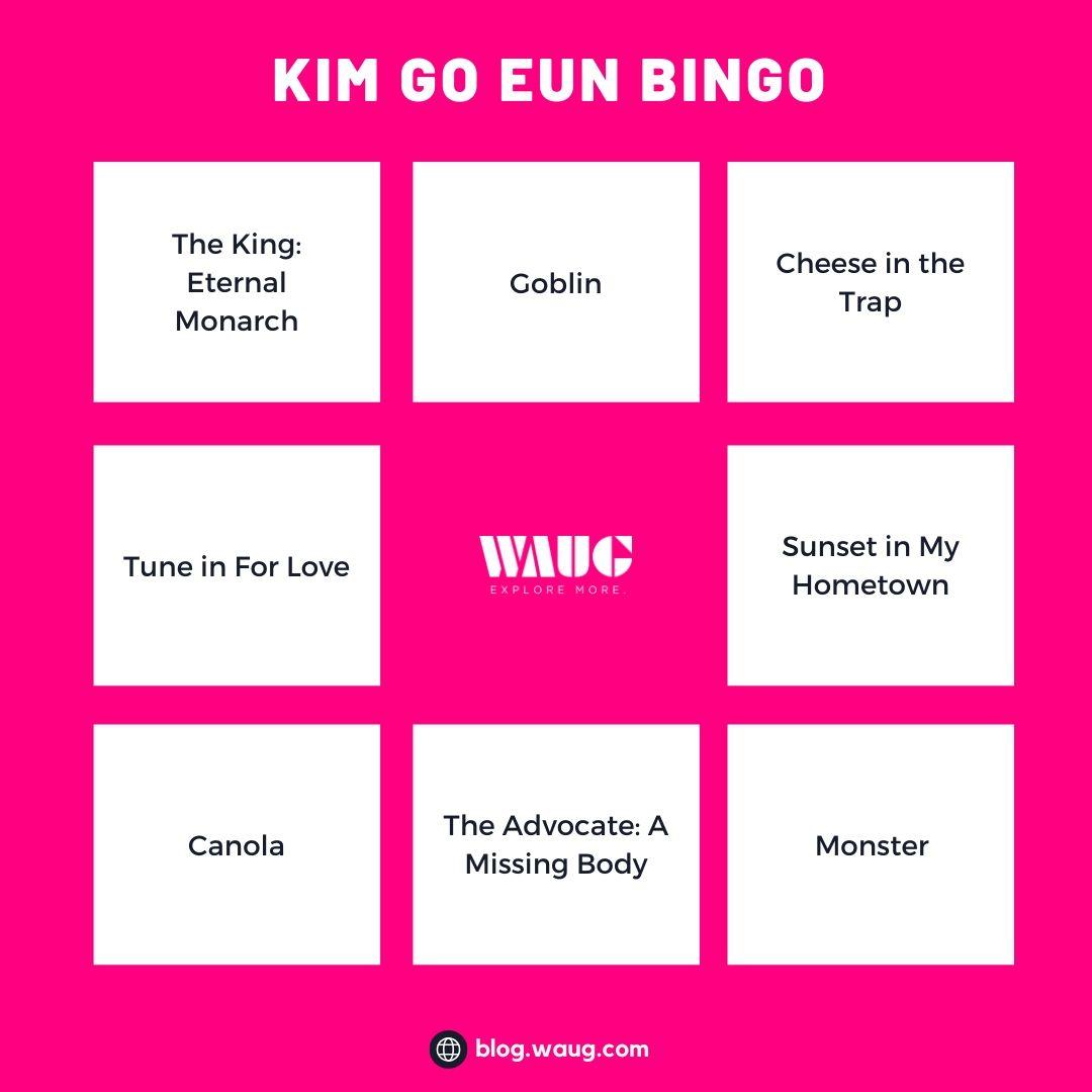 k-drama-bingo-card-kim-go-eun