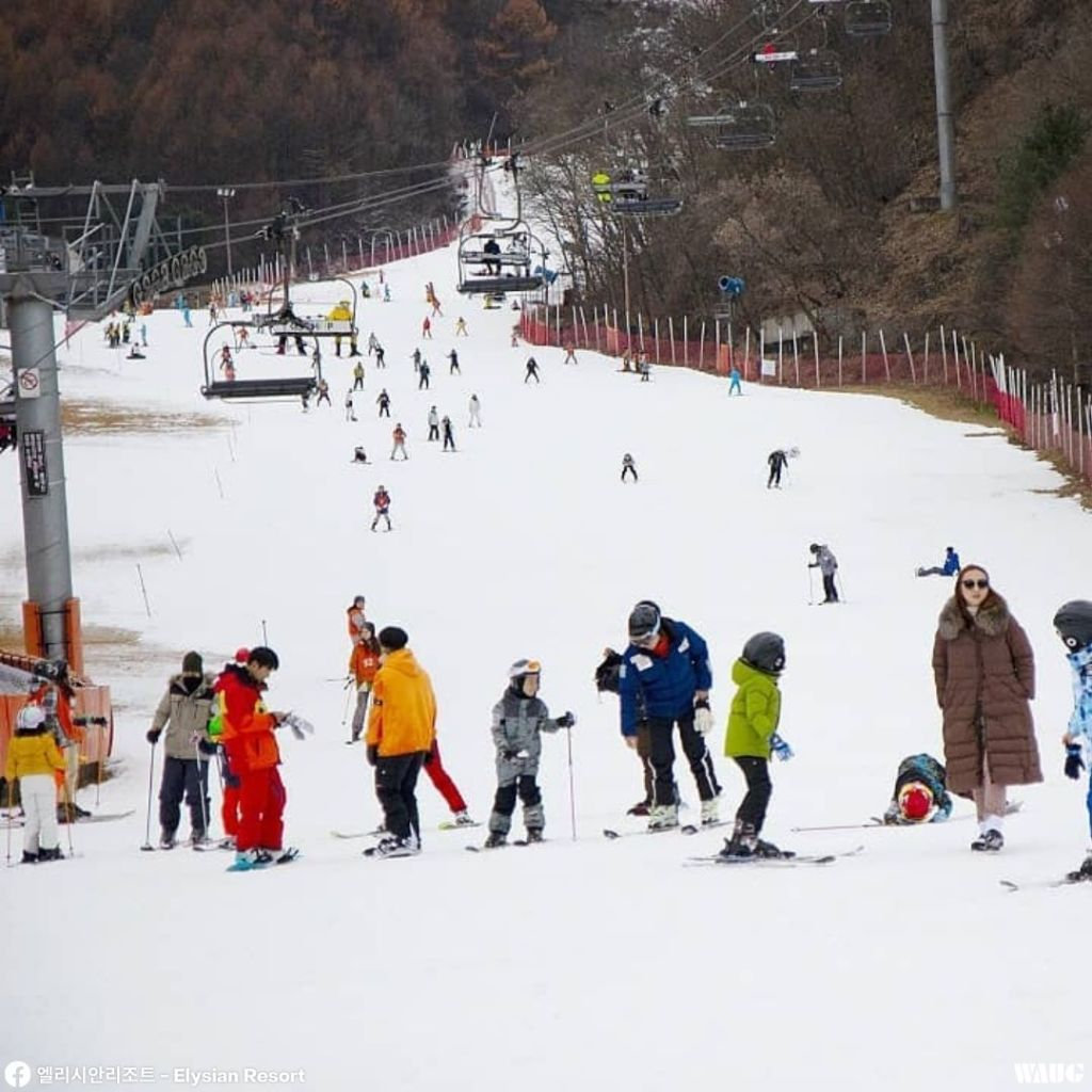 elysian gangchon ski resort price
