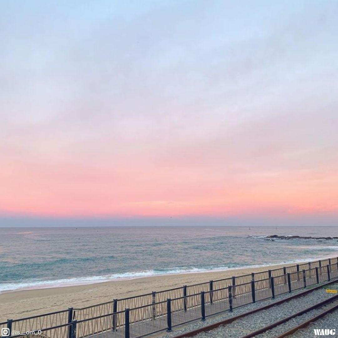 gangneung-jeongdongjin-beach