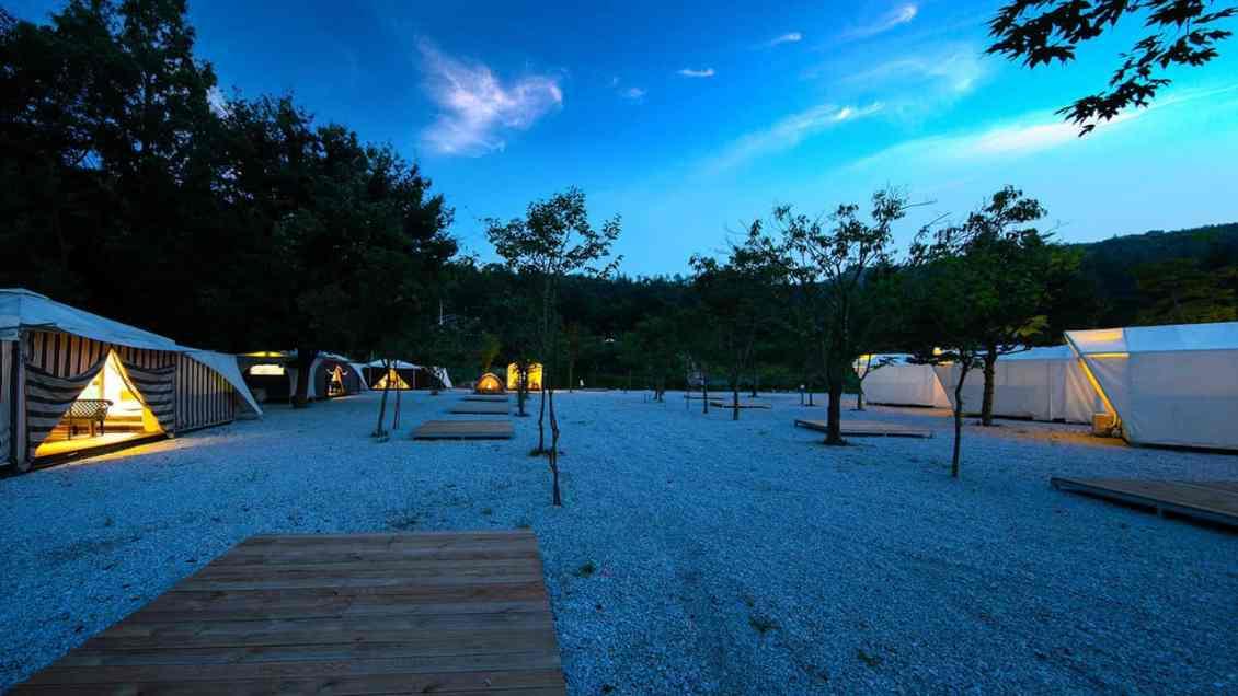 camping-spot-korea-winter