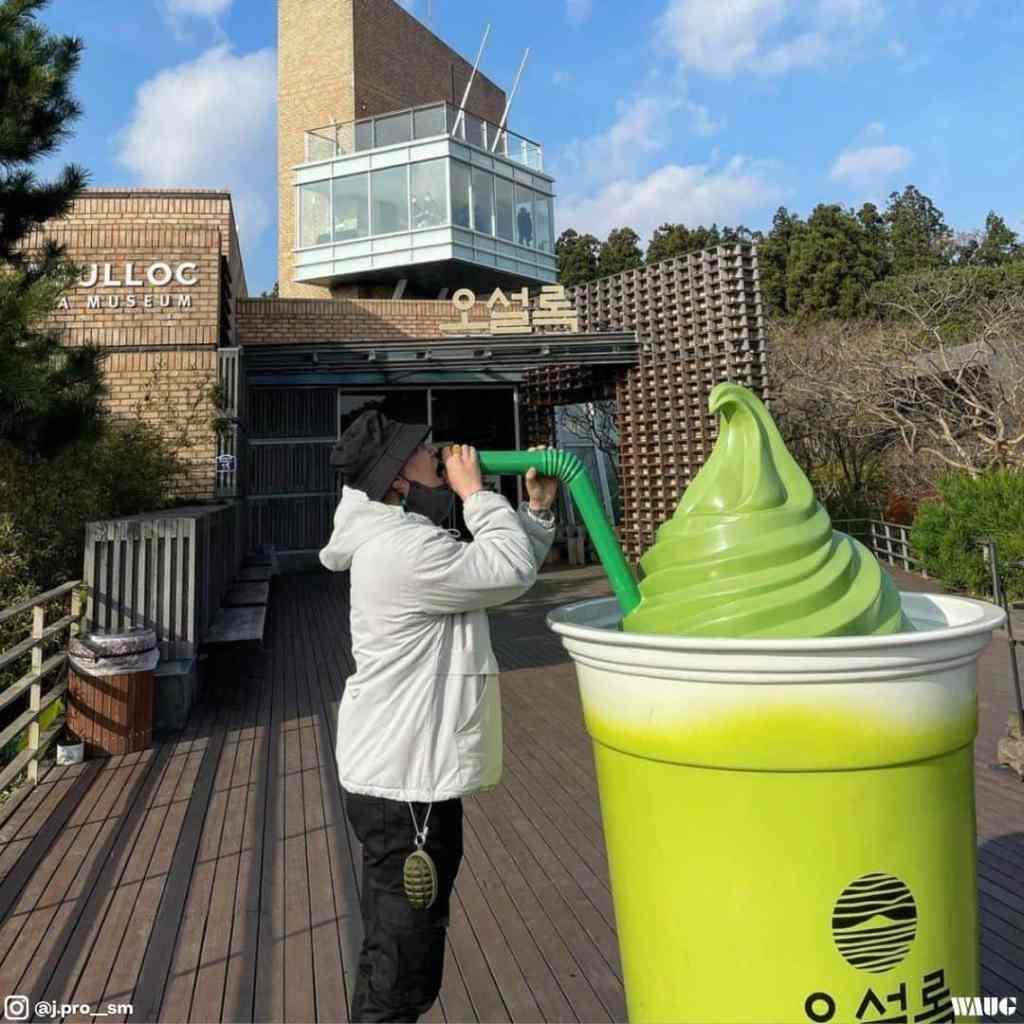 Osulloc green tea jeju