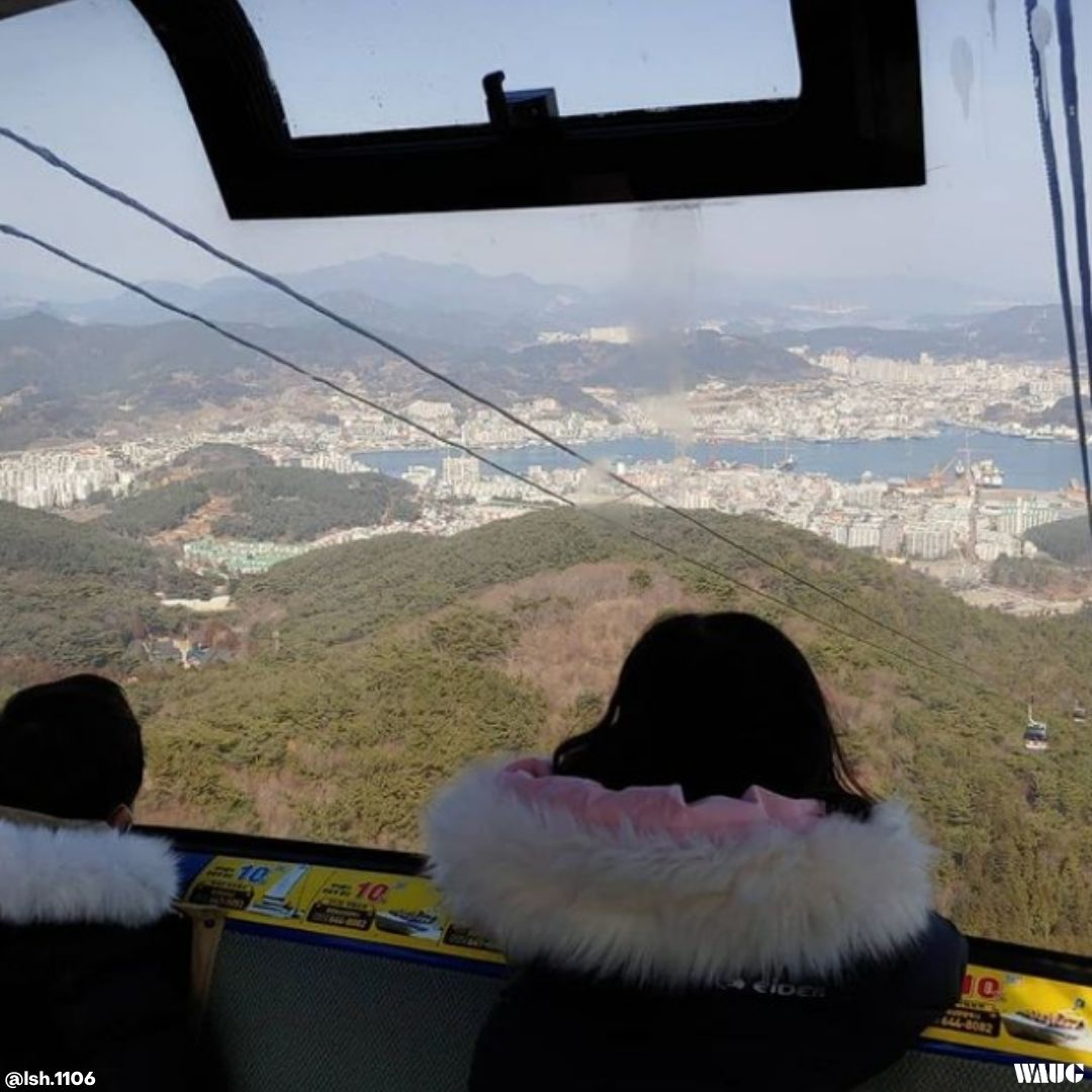 tongyeong hallyeosudo cable car
