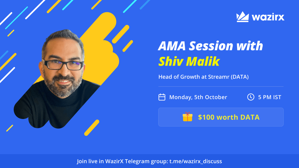 AMA with Shiv Malik, Head of Growth at Streamr