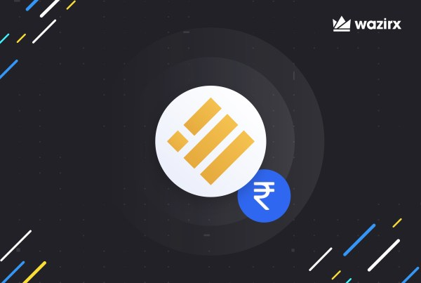 BUSD/INR trading is live on WazirX
