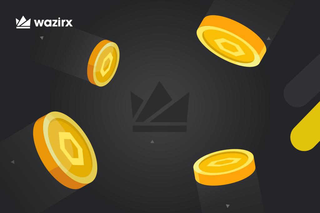 LINK/WRX trading on WazirX