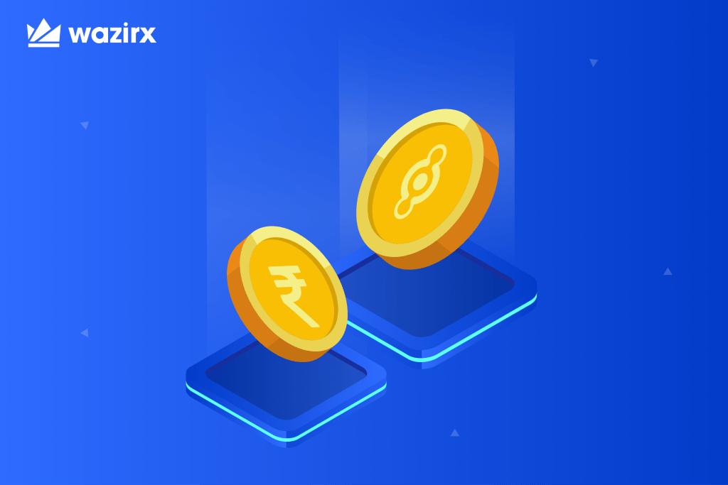 HNT/INR trading on WazirX