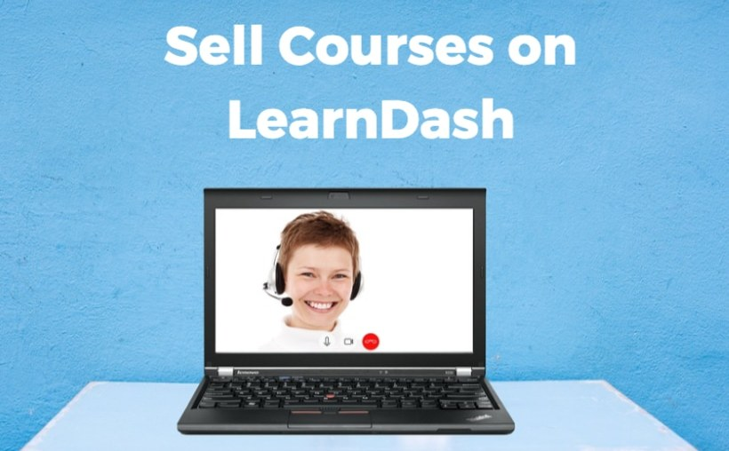 Sell Courses on LearnDash Made with DesignCap