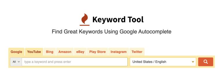 keyword tool google bing