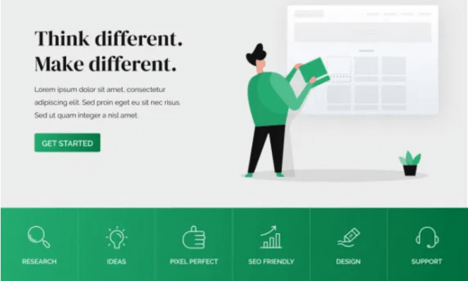 Free WordPress Landing Page Themes