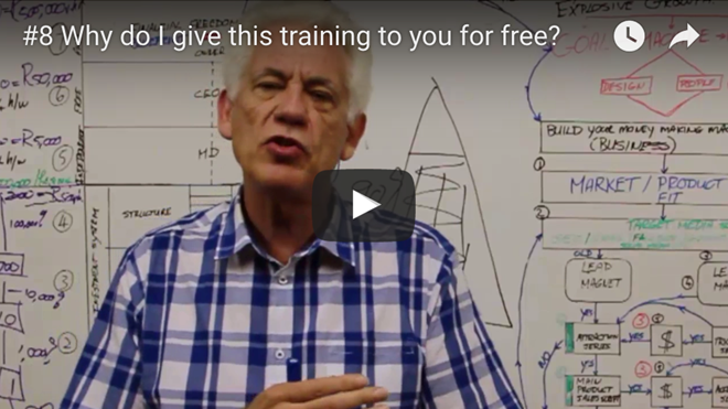 [WIT] #8 Why Do I Give You This Training For Free?
