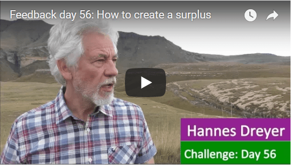 [Day 56] How To Create A Surplus