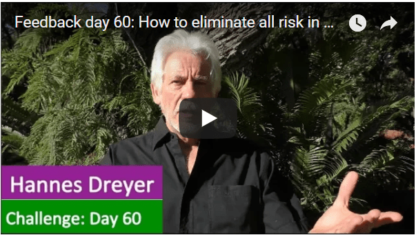 [Day 60] How To Eliminate All Risk In Business