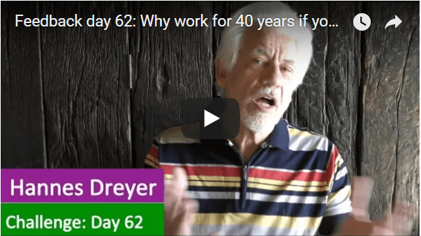 [Day 62] Why Work For 40 Years If You Can Be Financially Free In Less Than 2 Years