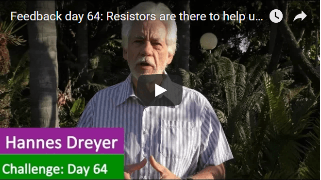 [Day 64] Resistors Are There To Help Us Grow Financially