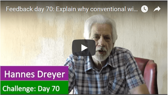[Day 70] Explain Why Conventional Wisdom Is Wrong When It Comes To Risk
