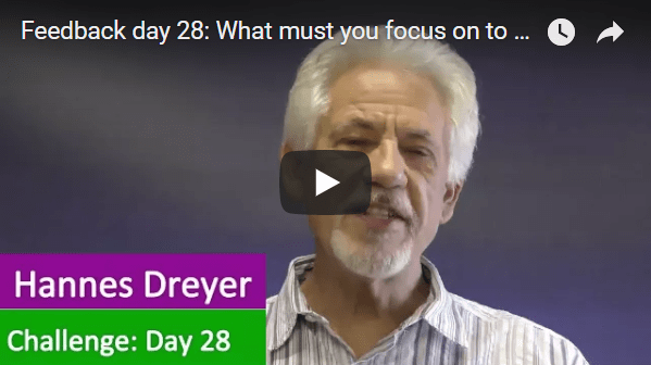 [Day 28] What Must You Focus On To Become Financially Free?