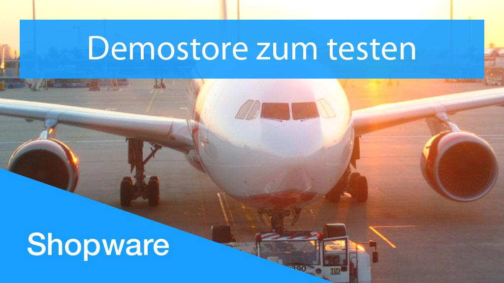 Demostore zum testen - Shopware 6