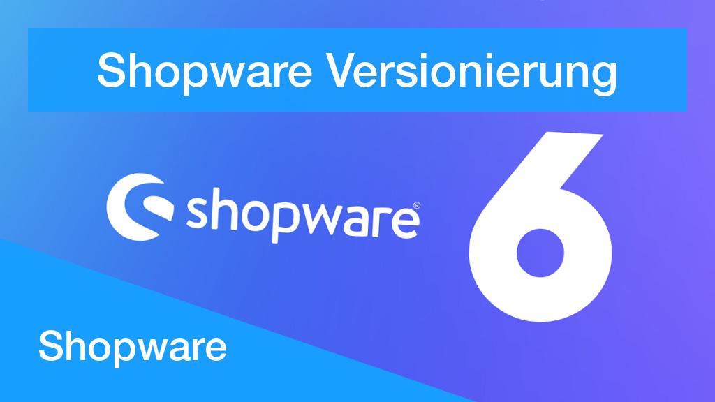 Shopware 6 Versionierungsstrategie