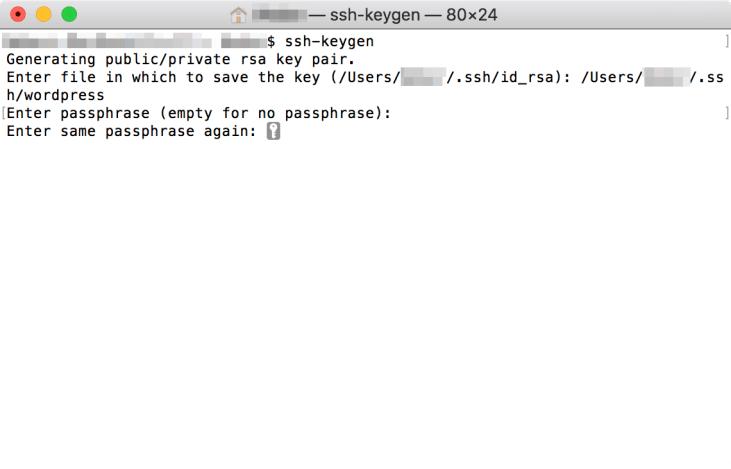 建立 SSH 金鑰 - Step 4
