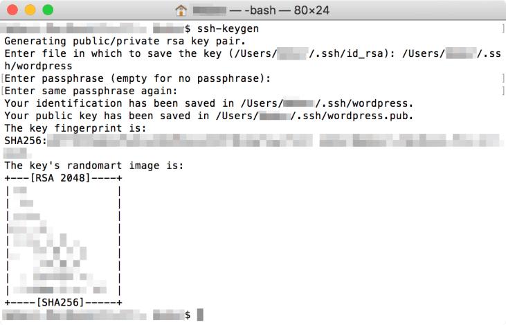建立 SSH 金鑰 - Step 5