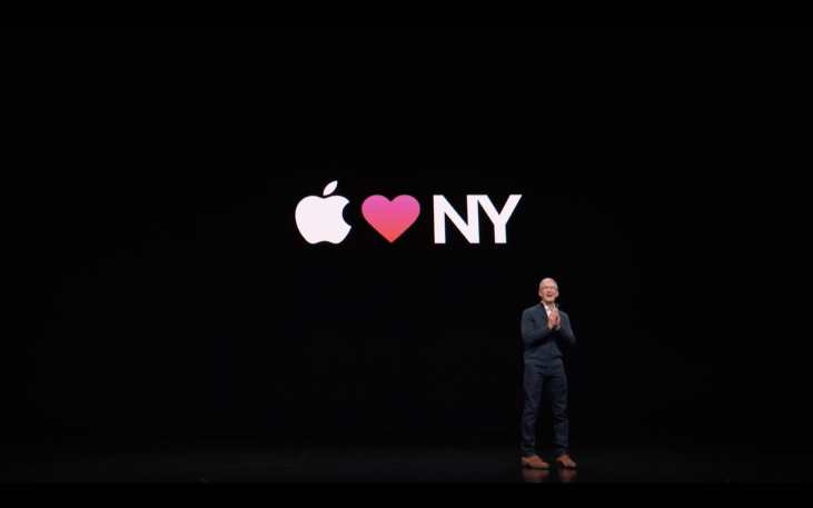 Apple Special Event - Apple Loves New York