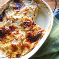 Potato and Leek Gratin #SundaySupper