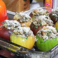 Stuffed Heirloom Tomatoes #SundaySupper