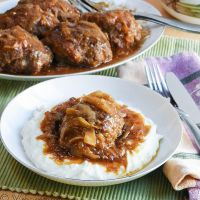 Salisbury Steak with Onion Gravy #SundaySupper