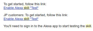 Custom Alexa Skill