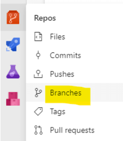 Azure branches