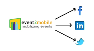 How event2mobile Helps You Promote Your Event on Social Networks