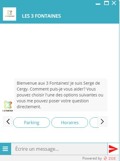 Les 3 Fontaines Shopping Center Collaborates with WS Group to Launch its First Chatbot