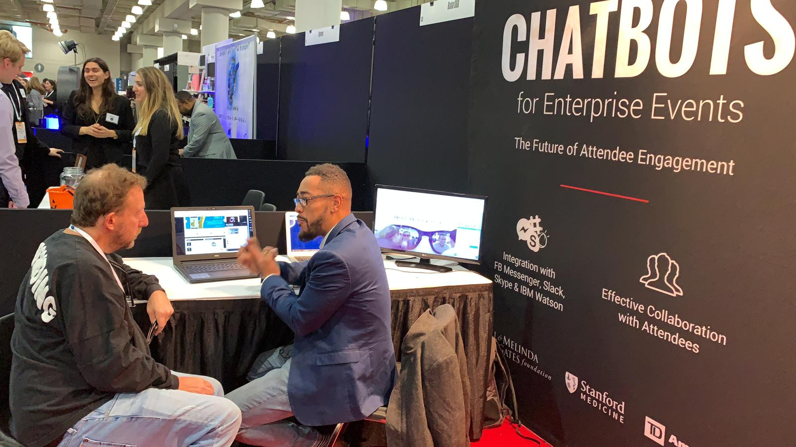 Web Spiders Group at BizBash Live: New York 2018- When Pictures Tell A Story
