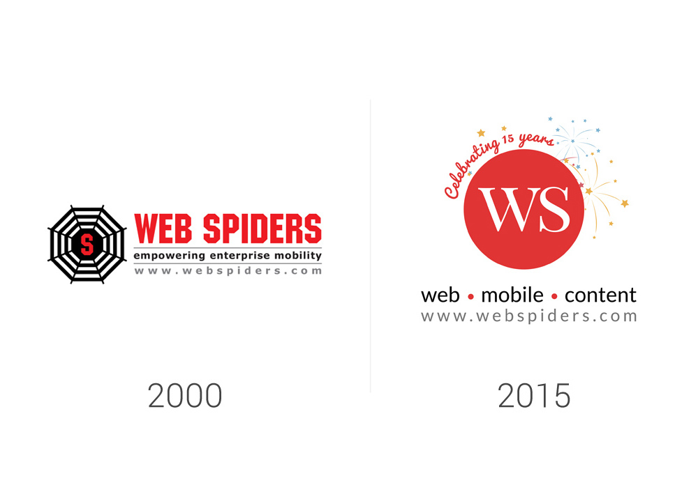 Web Spiders to WS - Rebranding